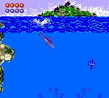 Ecco the Dolphin Game Gear Jelly fish