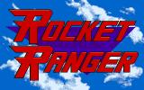 Rocket Ranger Apple IIgs This is called a title screen, boys and girls.