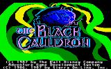 The Black Cauldron Apple IIgs Title screen.