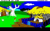 The Black Cauldron Apple IIgs Pig pen.