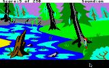The Black Cauldron Apple IIgs Near the swamp.