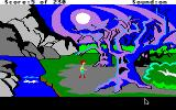 The Black Cauldron Apple IIgs Scary trees.