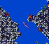Ecco: The Tides of Time Game Gear Rocks a plenty