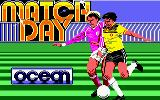 Match Day Amstrad CPC Loading Screen