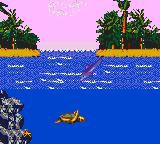 Ecco: The Tides of Time Game Gear More scenery above surface than before