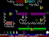 Mutant Monty ZX Spectrum Lets save the girl
