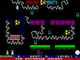 Mutant Monty ZX Spectrum Collecting gold
