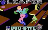 Leaper Commodore 16, Plus/4 Title screen