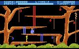 Monkey Magic Atari 8-bit Jungle level