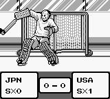 World Ice Hockey Game Boy Penalty shot.