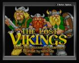 The Lost Vikings Game Boy Advance Main Title