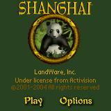 Shanghai Pocket Essentials Palm OS Title screen (colour)