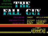 The Fall Guy ZX Spectrum Title Screen