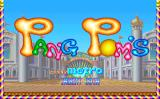 Pang Pom's Arcade Title screen