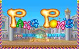 Pang Pom's Arcade Title screen (Mitchell), as well as being released directly by Metro, this game was also licensed to Mitchell, besides the title screen it's otherwise identical