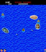 Land Sea Air Squad Arcade Game starts