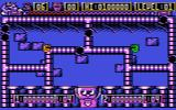 Tube Baddies Atari 8-bit Two players mode