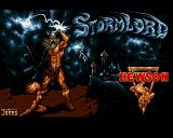 Stormlord Amiga Title screen