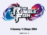 The Rumble Fish Arcade Title screen
