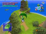 The Legend of Zelda: The Wind Waker GameCube Flying with Deku leaf