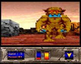 Monster Amiga Yellow monster approaching