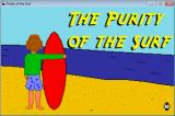 The Purity of the Surf Windows Title Screen