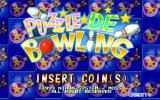Puzzle De Bowling Arcade Title screen