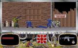 Rise of the Dragon DOS Arcade sequence: Against Deng Hwang Inc's security team