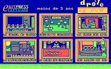 Fun School 4: for the under 5s DOS Game selection (CGA/French version)