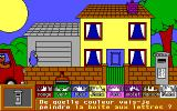 Fun School 4: for the under 5s DOS Teddy's house (EGA/French version)