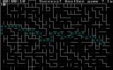 Maze DOS Bumped up the difficulty to 6: still no match for my pathfinding skillz.