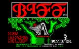Biff Amstrad CPC Loading screen