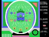 Pachinko-UFO MSX A ball rolls into the plane