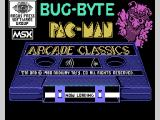 Pac-Man MSX Bug-Byte loading screen