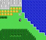 Double Moon Densetsu NES World map
