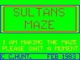 Sultan's Maze Dragon 32/64 Title screen