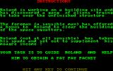 Roland Goes Digging Amstrad CPC Backstory
