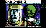 Dan Dare II: Mekon's Revenge Commodore 64 Loading screen (tape version)