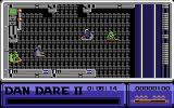 Dan Dare II: Mekon's Revenge Commodore 64 Exploring the area a bit...
