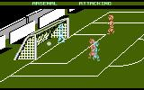 Kenny Dalglish Soccer Manager Atari 8-bit Goal scored by home team