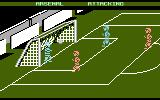 Kenny Dalglish Soccer Manager Atari 8-bit Goal scored by away team