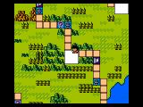 Dragon Ball 3: Gokūden NES Moving on the world map