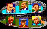 Kenny Dalglish Soccer Manager Amiga Manager menu