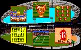 Kenny Dalglish Soccer Manager Amiga Team menu