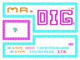 Mr. Dig Dragon 32/64 Title screen