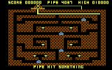 Diamond Mine Atari 8-bit Pipe hit the wall