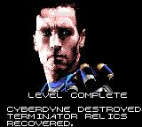 Terminator 2: Judgment Day Game Gear Level 4 finish