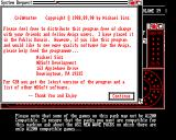 CribMaster Amiga About the program
