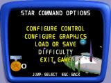 Disney•Pixar Buzz Lightyear of Star Command Windows The game configuration option menu.