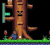 The Addams Family Game Gear A big tree
